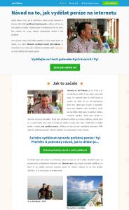 Jan Pálený - fiktivní obchodník - binární opce
