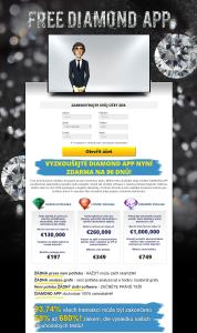 Free Diamond App webová stránka