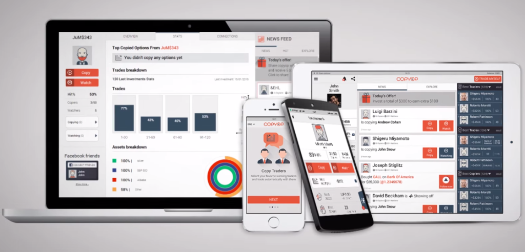 Webové a mobilní platformy CopyOp