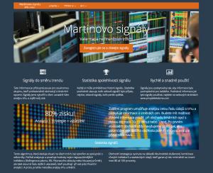 Recenze - Martinovo signály - webová stránka