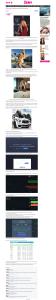 Snímek podvodného webu, který propaguje brokera Binatex